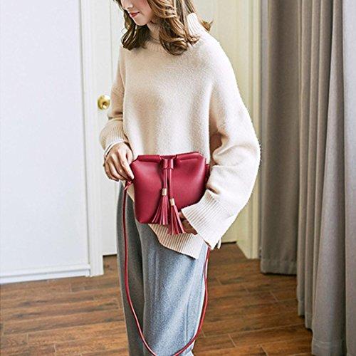 Gray Crossbody 2018 Duseedik Black Clearance Messenger Shoulder Coin Phone Satchel Vintage Red Bag Women Bag Bag Girl Bag Handbag Purse for amp; AR5qtwtx