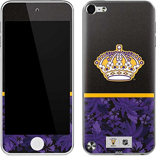 (NHL Los Angeles Kings iPod Touch (5th Gen&2012) Skin - Los Angeles Kings Retro Tropical Print Vinyl Decal Skin For Your iPod Touch (5th Gen&2012))