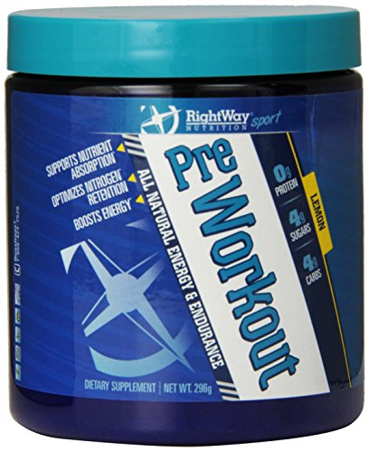 RightWay Nutrition Pre-Workout Supplement, 296 Gram