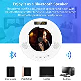 DVD CD Player with Bluetooth, Wall Mountable DVD CD