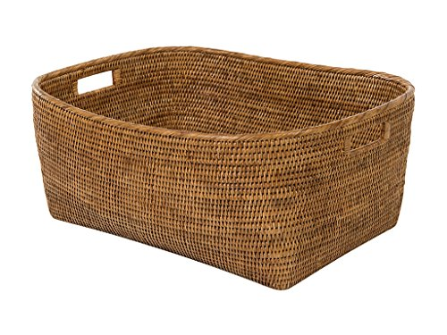 Rattan Honey (Kouboo 1060132 Storage Basket, Large, Honey Brown)