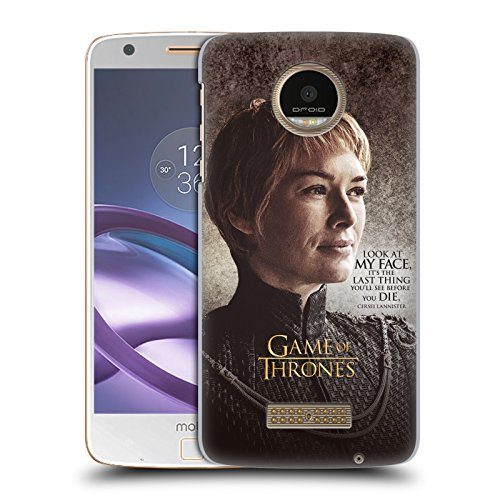 official-hbo-game-of-thrones-cersei-lannister-character-quotes-hard-back-case-for-moto-z-force-z-for