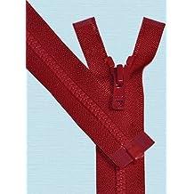 """28\"""" Vislon Zipper ~ YKK #5 Molded Plastic ~ Separating - 519 Hot Red (1 Zipper/ Pack)"""