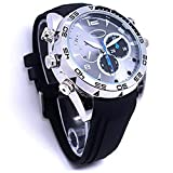 CAMAKT HD 1080P Multifunctional Fashion style Men's professional Waterproof Watch Mini Camcorders Mini Hidden Spy Watch Camera DVR with Ir Night Vision Function Water Resistant & Built in 32gb memory