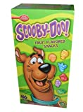 Bett Crocker Scooby Doo Fruit Flavored Snacks 46 Pouch Box