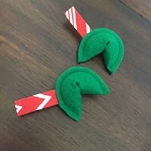 Holiday Fortune Cookie Cat Toy with Organic Catnip - Two Pack