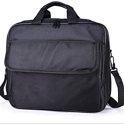OOLLWW Video Projector Carrying Case Bags Scratch-Resistant Interior , Shoulder Strap for Epson, Acer, Benq, LG,¡­