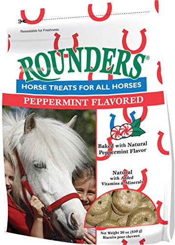 (Peppermint Rounders Horse Treat 30 oz.)