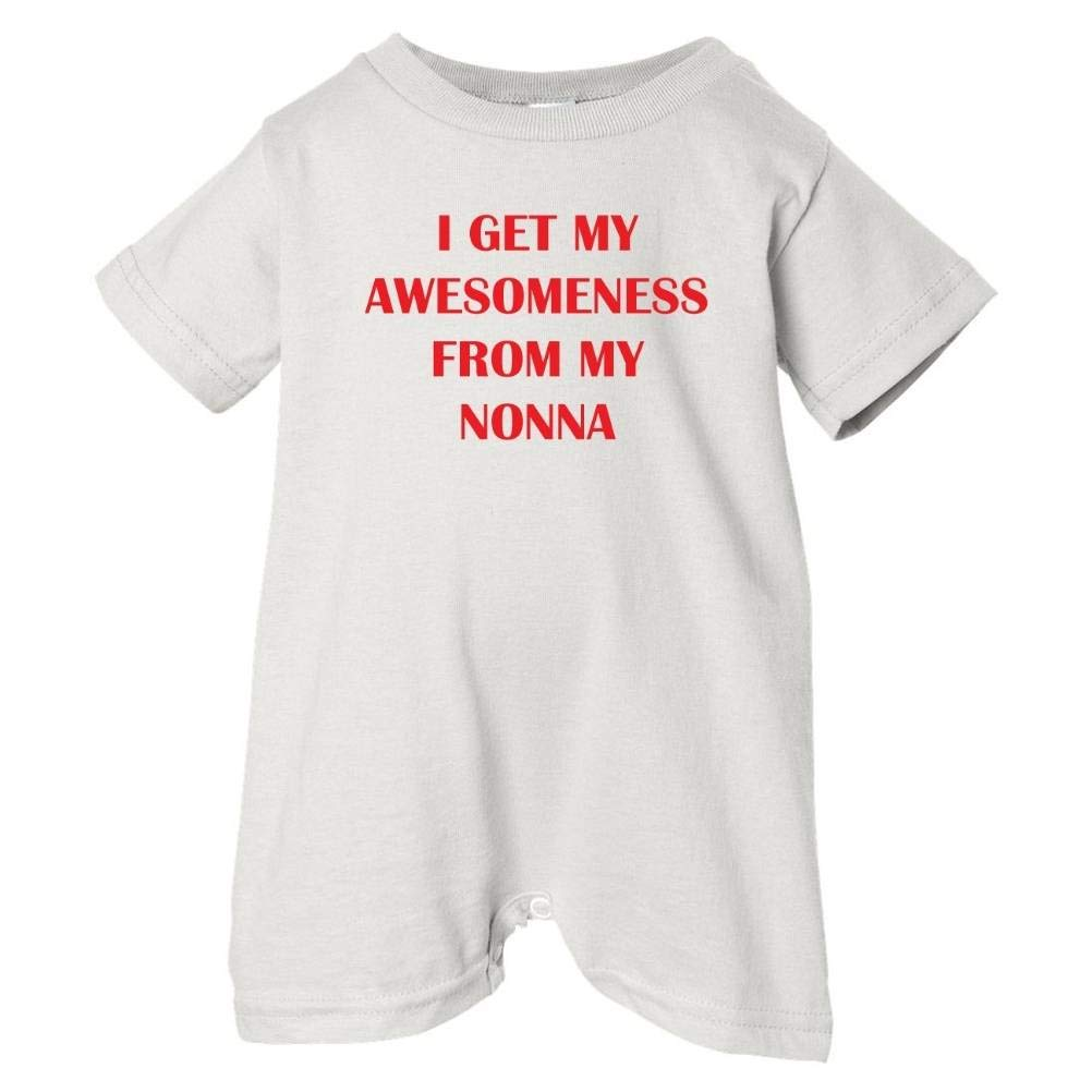 Unisex Baby Awesomeness From Nonna T-Shirt Romper So Relative
