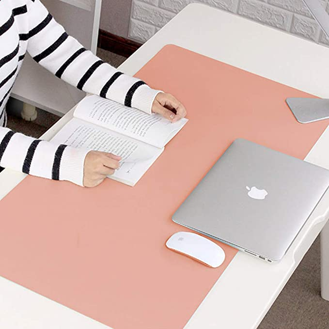 SELCNG Laptop Pad Table Mat Waterproof Extra Large Mouse Pad Desk Pad Keyboard Pad Mens Office Can Be Customized Leather Cute Female Student Book Desktop Mat