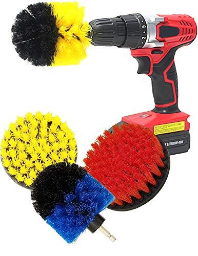 Multi-Purpose Drill Brush Attachment for Cleaning - Power Scrubber Brush