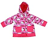Western Chief Girls Hello Kitty Two-Pocket Pink Rain Jacket (2T)