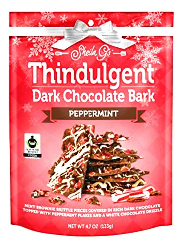(Sheila G's Peppermint Dark Chocolate Bark