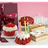 Gourmet Happy Birthday Red Velvet Collection Gift Basket