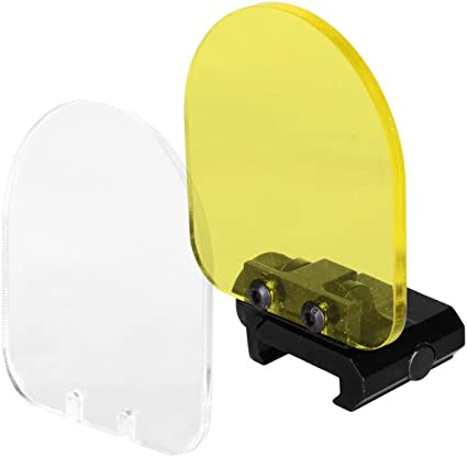 Perfect for Airsoft Aim Sports Clear Lens Protector for Tactical Scope
