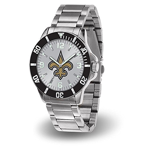Sport Watch Mens Nfl (New Orleans Saints NFL Men's Sparo Key Watch)