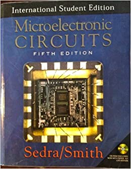 Problems supplement 2007-08 for microelectronic circuits, fifth.