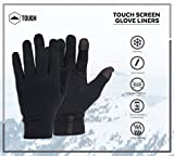 Tough Outdoors Touch Screen Running Sports Gloves -...
