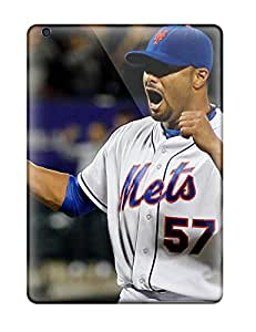 Ipad Air Case Cover - Slim Fit Tpu Protector Shock Absorbent Case (new York Mets )