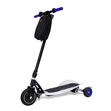 Amazon.com: TechClic - Patinete eléctrico plegable de 3 ...