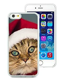 Hot Sell Case Cover For SamSung Galaxy S3 Christmas Cat White Hard Case 38
