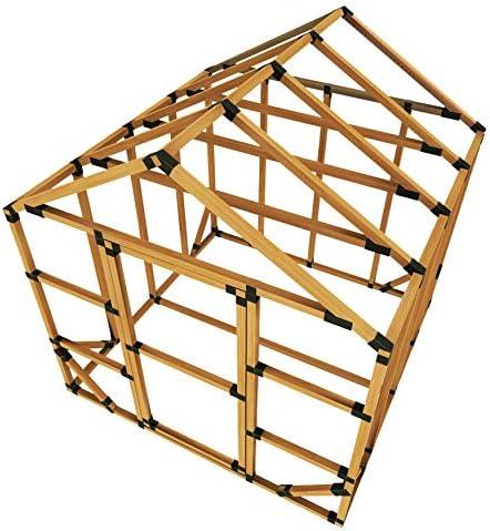 Kit de invernadero estándar E-Z Frame 8X8: Amazon.es: Jardín