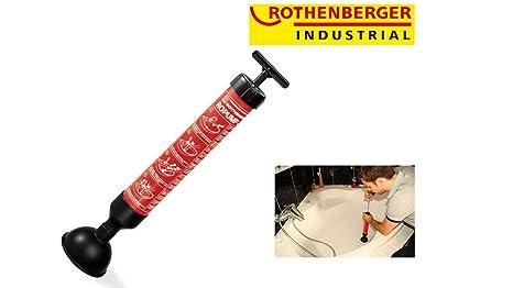 Rothenberger Industrial GmbH 71991 Déboucheur à Pompe Ropump I, Rouge