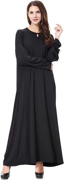 Vrouwen Moslimgewaden Islamitische Abaya Maxi Jurk Lange