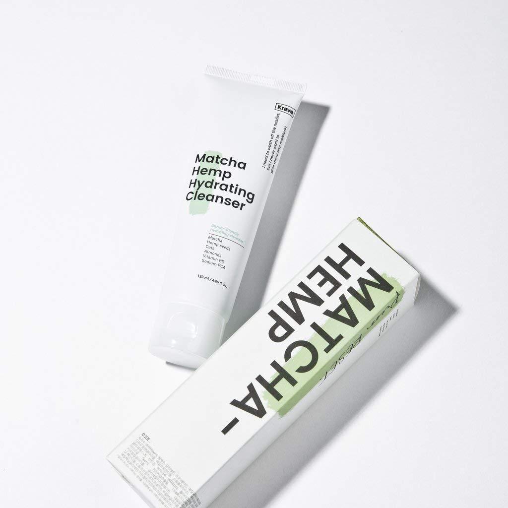 [Krave Beauty] Matcha Hemp Hydrating Cleanser 120ml