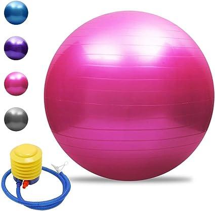 TOMSHOO - Pelota de yoga antiestallido, para pilates, fitness, 45 ...