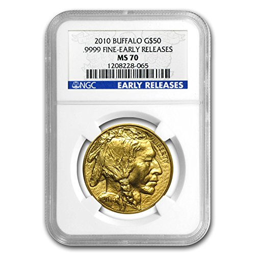 2010 1 oz Gold Buffalo MS-70 NGC (Early Releases) 1 OZ MS-70 NGC