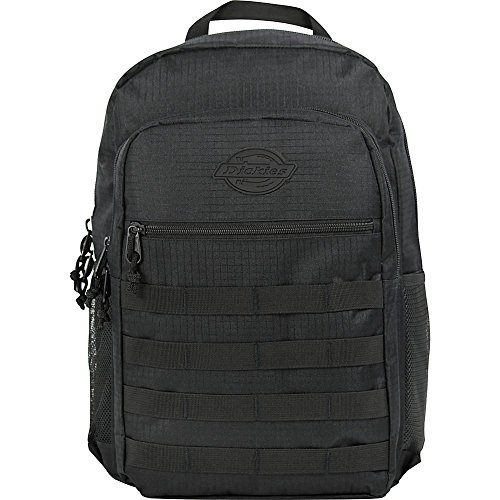 Dickies Campbell Backpack, Black Ripstop, One Size ()