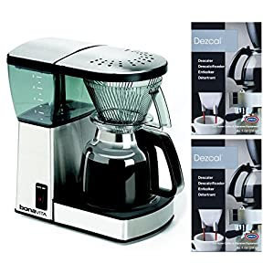Bonavita BV1800 8 Cup Coffee Maker With Glass Carafe Bundle, takes up little space and makes a great pot of coffee
