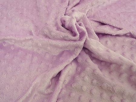 Soft Plush Cuddlesoft Velboa Fleece Fabric BABY BLUE