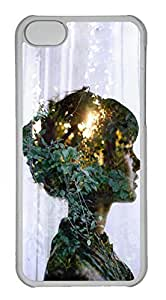 Personalized Custom Sunshine Girl for iPhone 5C PC Transparent Case by runtopwell