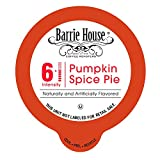 Barrie House Pumpkin Spice Single Capsules for K-Cup Brewer, 80 Count