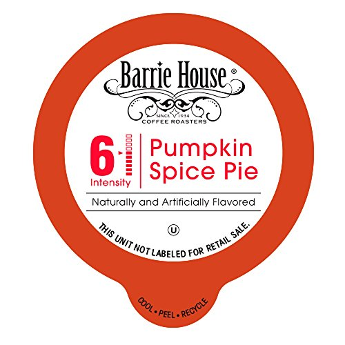 Barrie House Pumpkin Spice Single Capsules for K-Cup Brewer, 80 ()