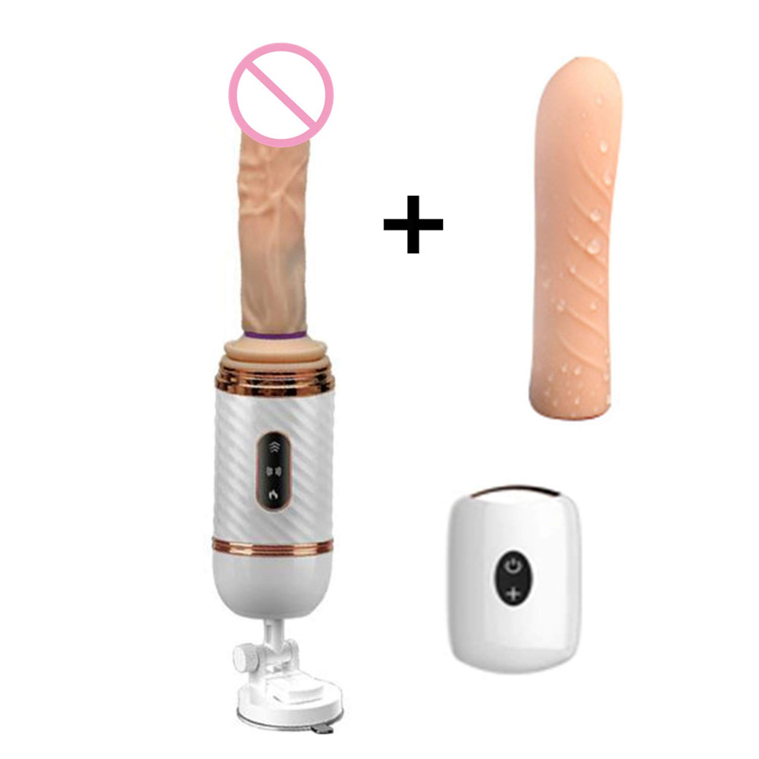 Wireless Remote Control Heating Telescopic Dildo Suction Cup Vi-brator Vagina G-Spot Masturbator Adult Anal Sex Toys for Woman Option Two