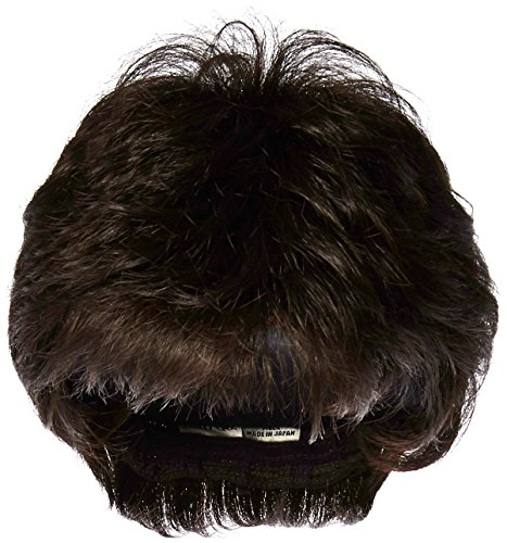 Textured Cut Wig  Color R4 MIDNIGHT BROWN - Hairdo Wigs Short Feathered Modern Tru2Life Heat Friendly Synthetic Wispy Bang