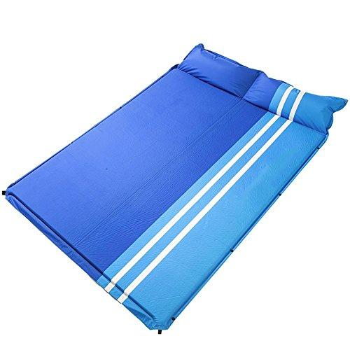 MIAO Matelas gonflables automatique, en plein air Camping intérieur Déjeuner Pause Double peut être cousu Moisture Barrier Tent Sleeping Mats