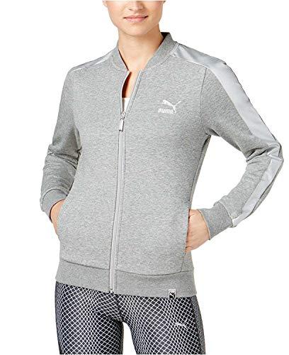 PUMA Women's T7 Archive Track Jacket Grey Small