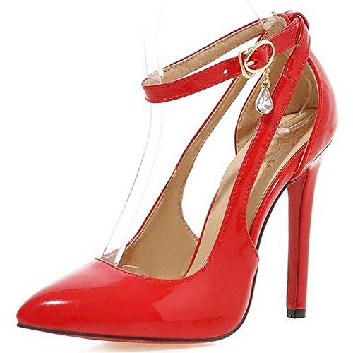 donna caviglia Strap LongFengMa Red alla qgPHz