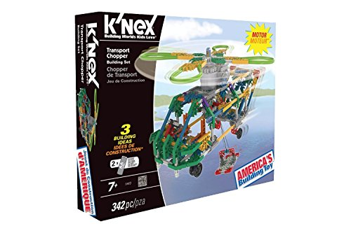 Motorized Airplane (K'NEX Transport Chopper Building Set)