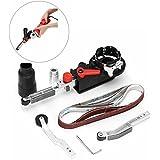 Essort Mini Belt Sander, Electric File Adapter for 100 mm 4-Inch Angle Grinder, 15 x 452mm