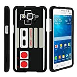Cheap MINITURTLE Case Compatible w/ [Samsung Galaxy Grand Prime Slim case, Grand Prime case ][Snap Shell] Hard Plastic Slim Fitted Snap on case w/ Unique Designs Game Controller