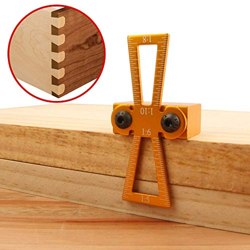 Red Oak Tools Dovetail Marker- Woodworking Joints Marking Jig ()