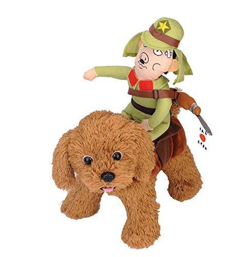 Pety Pet Costume Dog Costume Pet Suit Cowboy Rider Style Halloween (Medium, JP) ()