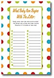 Baby Shower Games For Gender Neutral | By L&P Designs | Baby Party Ideas (What Baby Item Begins)
