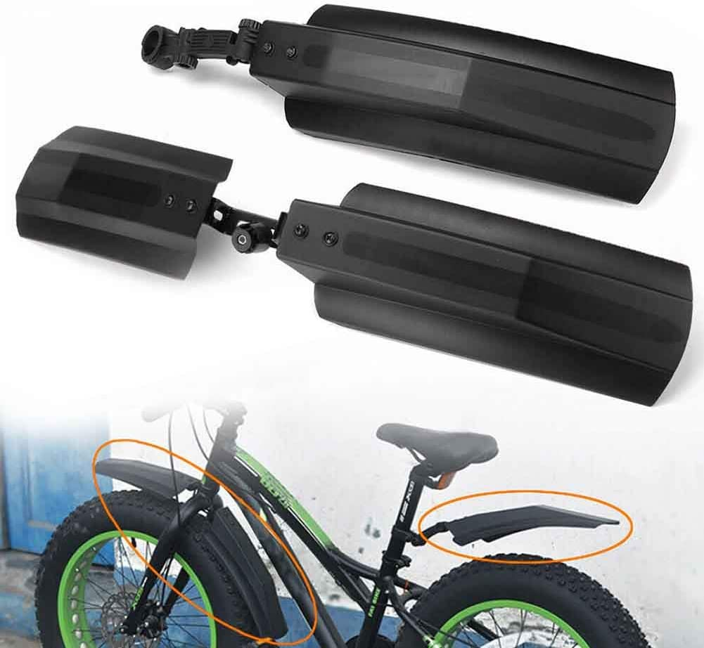 Fat Tire Bike Cycling Fender 26 inch Snow Bicycle Bike Front Rear Mudguard