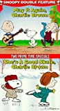 Snoopy Double Feature Vol. 7 (Play it Again/She's a Good Skate) [VHS]